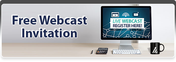 Free Webcast Invitation