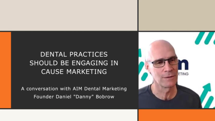 AIM's President Interviewed By Dental Products Report on Dental Cause Marketing